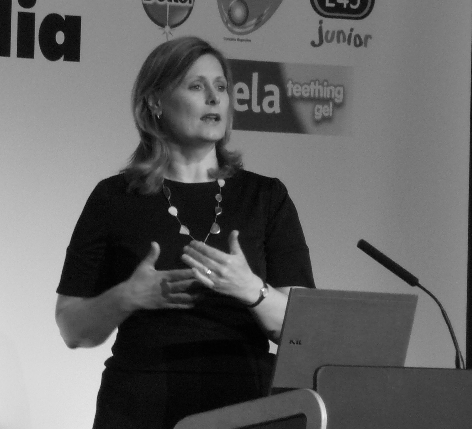 Sarah Brown addresses delegates at Cybermummy 2011