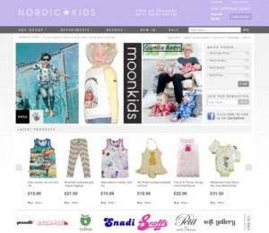 Nordic Kids launch their brand new website