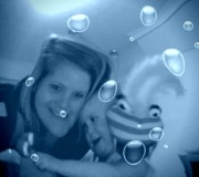 underwater with Reubs