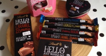We've got a yummy small selection of chocolate from Lindt to give to our teaching team.