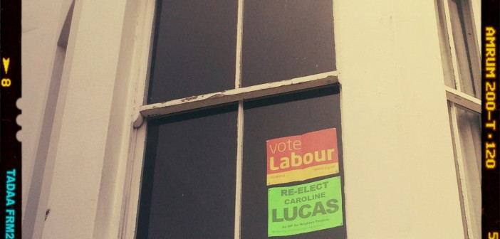 VLOG: The Election Posters of Hanover, Brighton