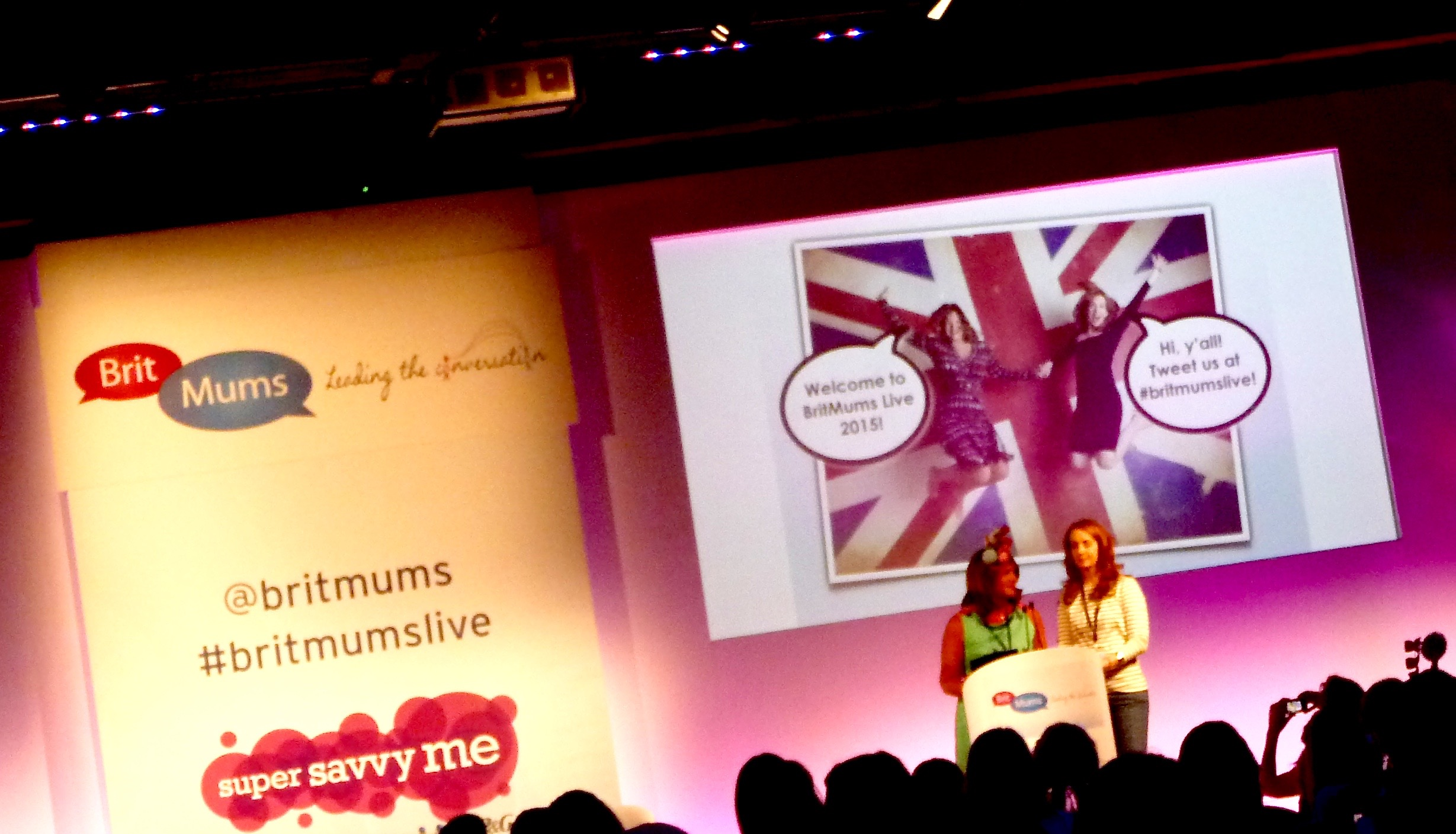 Welcome to BritMums Live 2015.