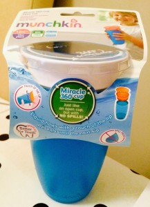 Training for big kids cups: the Munchkin Miracle 360 Cup