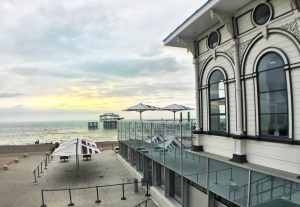 View from the i360 terrace.