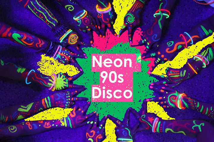 Neon 90s disco uv paint party concorde 2 27th may for Neon paint party 2017