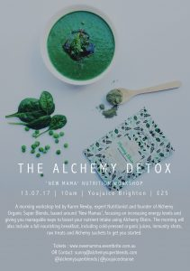 Alchemy Cleanse Flyer